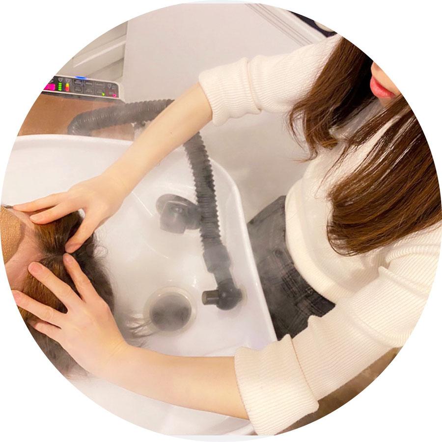 ヘッドスパ/群馬県高崎市で人気の髪質改善美容室ロリポップ