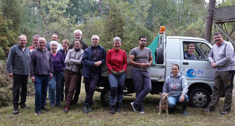 Biotoppflege 08.09.2018 - Ziegelschütt Brenne
