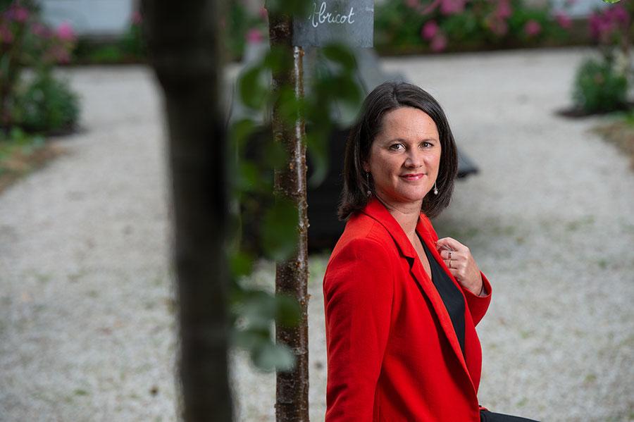 Johanna Rolland, maire de Nantes, présidente de Nantes Métropole - Mayor of Nantes