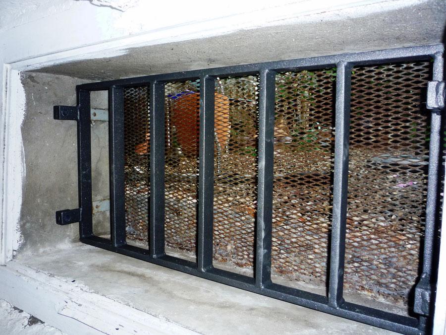 Einbruchschutz Schutzgitter aus Stahl