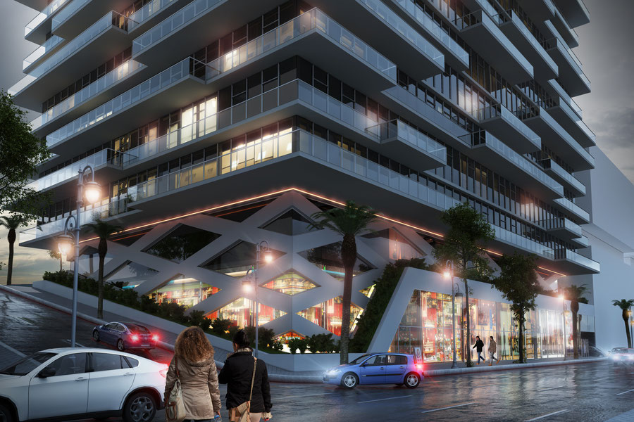 HIGH RISE LUXURY APPARTEMENTS TANGIER(MA)