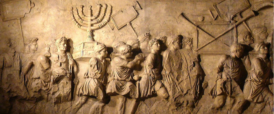 Arch of Titus, Rome, Menorah, Bible, seven armed lampstand, candlestick,  golden lampstand, Tabernacle, Temple