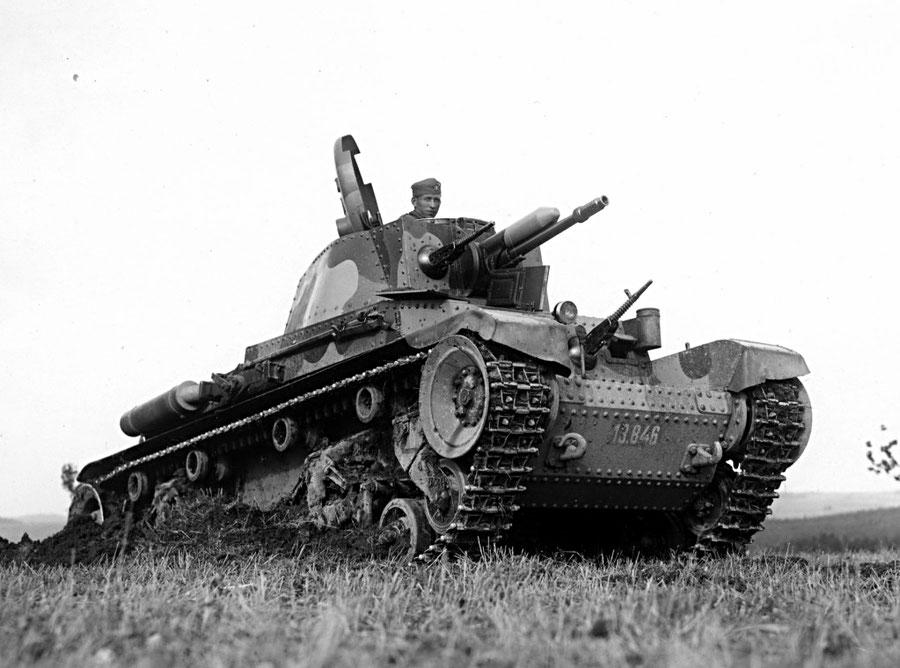 Un symbole de la puissance militaire Tchèque