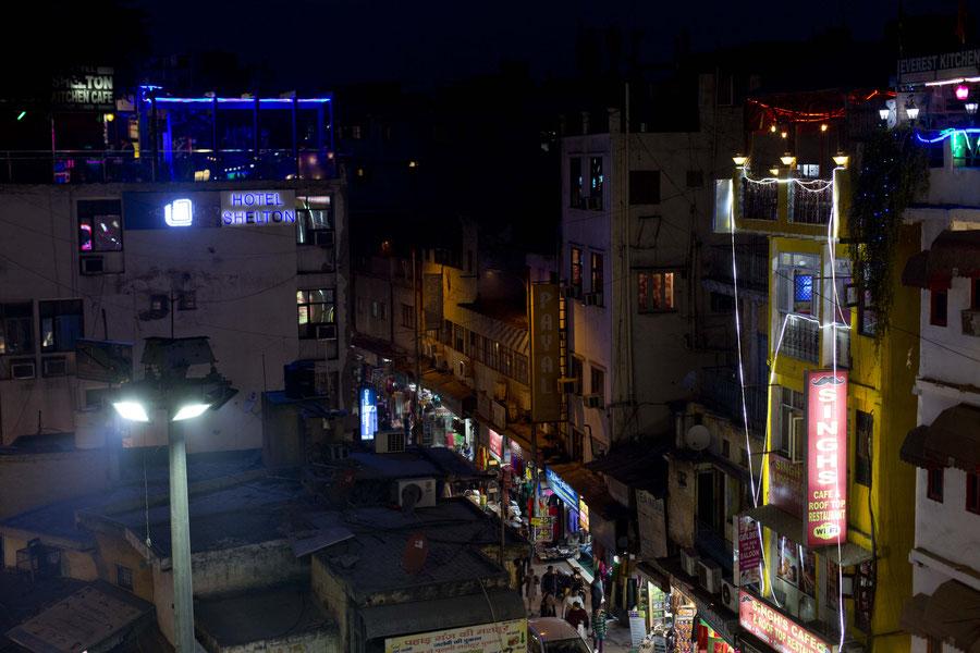 Delhi in der Nacht, Indien