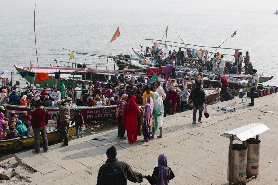Local tourisme, Varanasi, India
