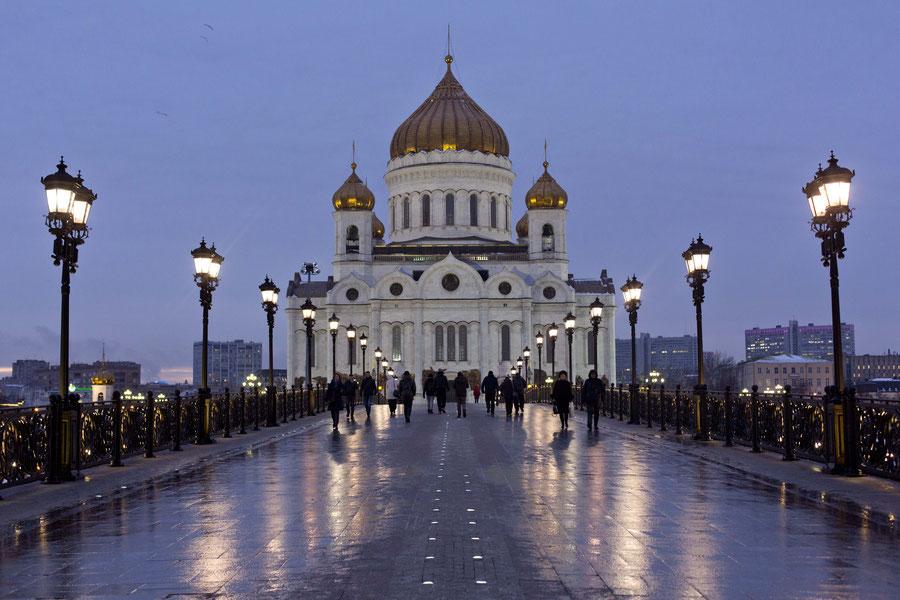 Die Kathedrale des Erlösers, Moskau, Russland