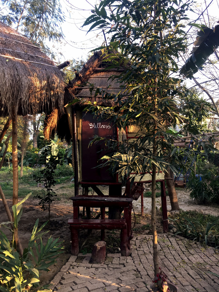 Stillness, Evergreen Ecolodge, Sauraha, Chitwan National Parc, Nepal
