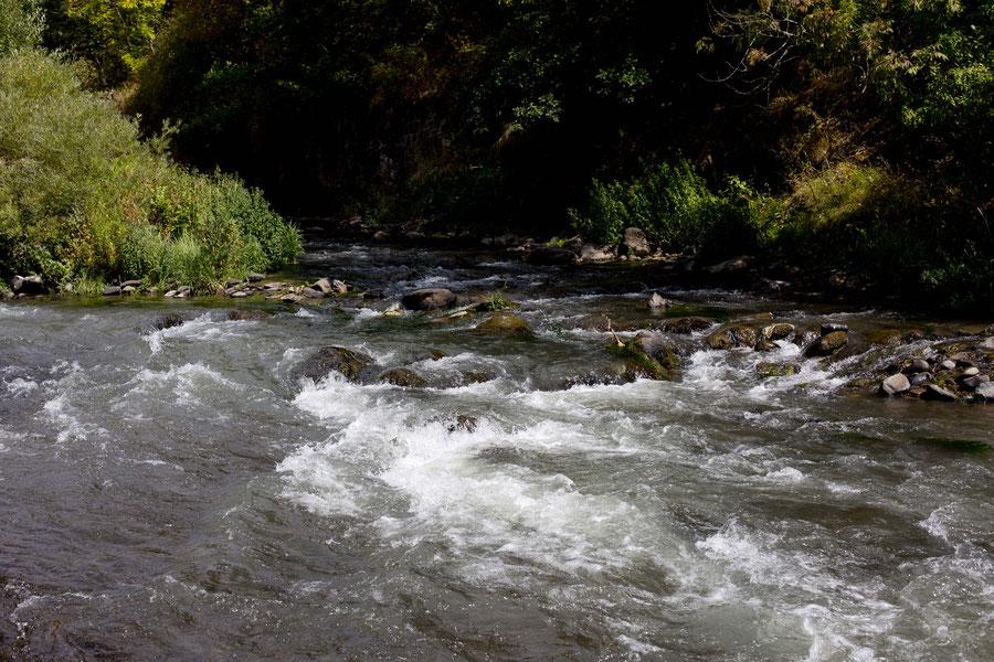 Der Wasserfall bei Dschermuk, Armenien