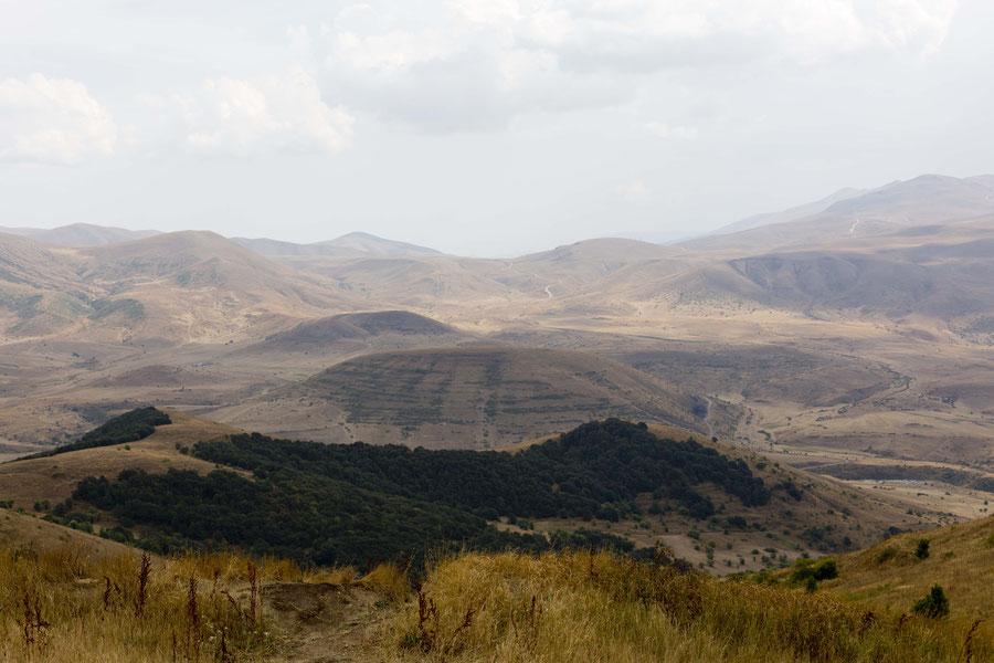 Der Blick in die Weite, Dschermuk, Armenien