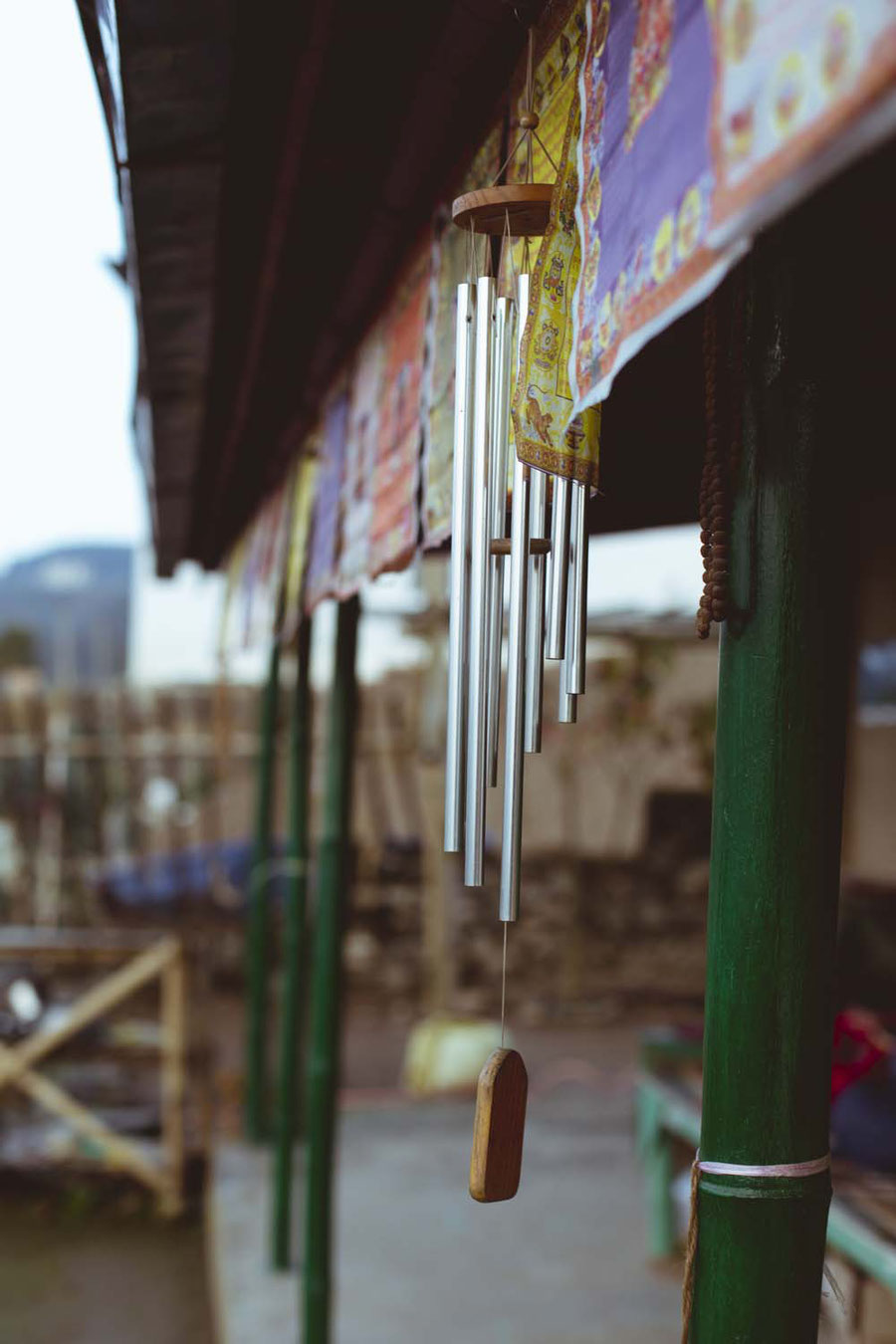 Windspiel, Sisters Homestay, Nagarkot, Nepal