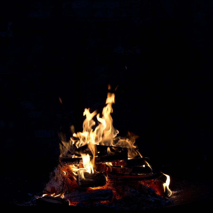 Offenes Feuer im Garten, Deutschland