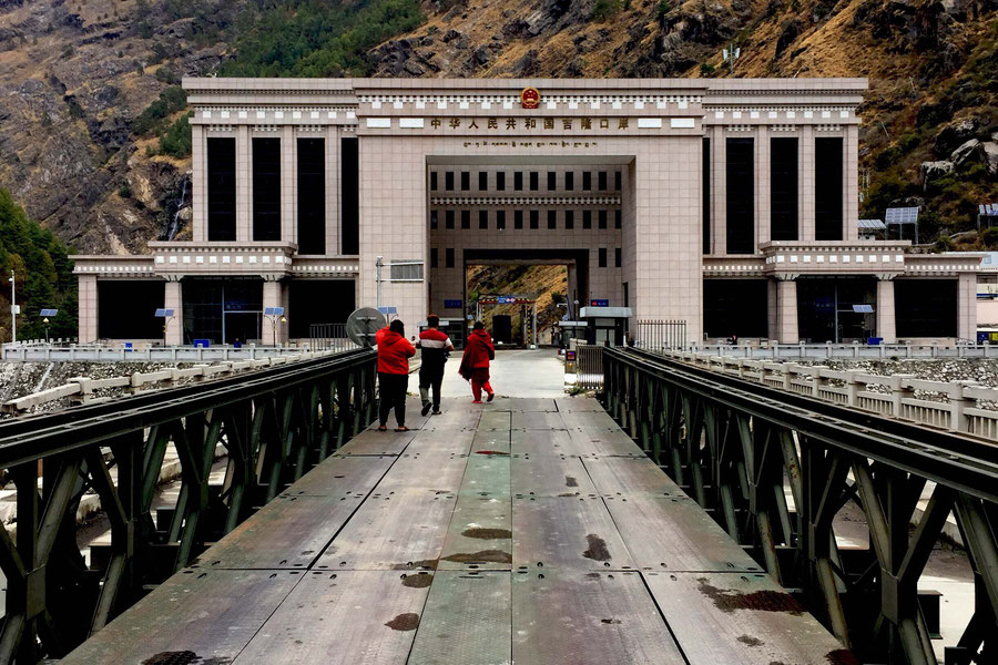 The gate to china, Tibetan/Nepalese border