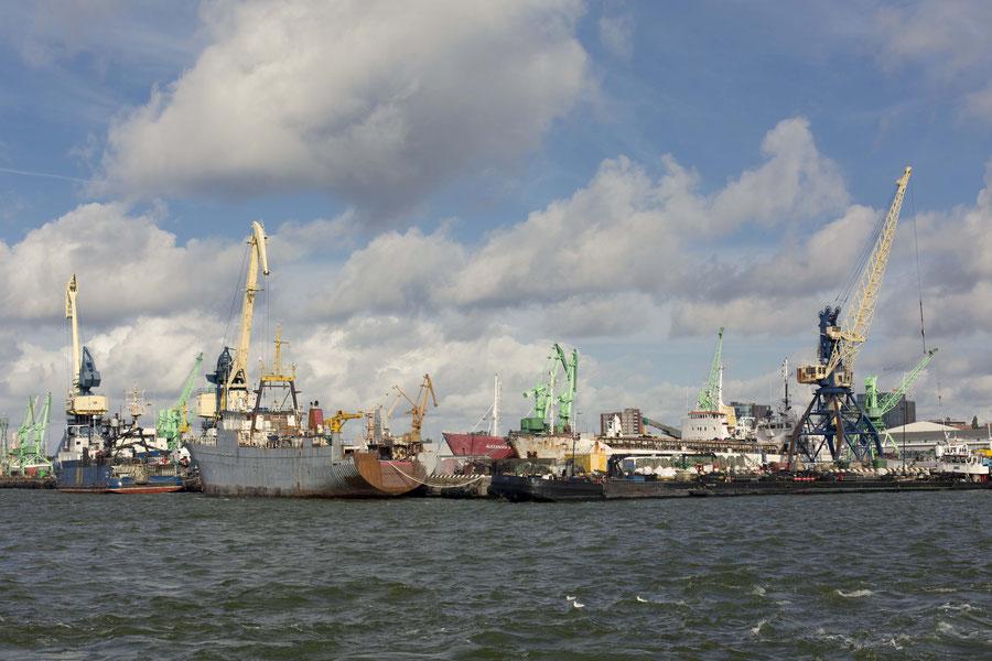 Der Hafen von Klaipeda