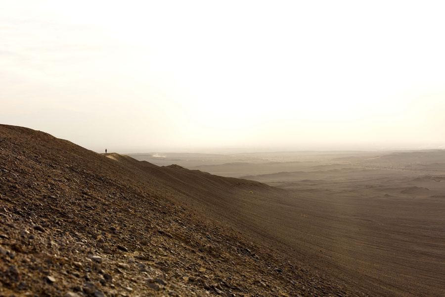 Wüstenlandschaft, Yazd, Iran