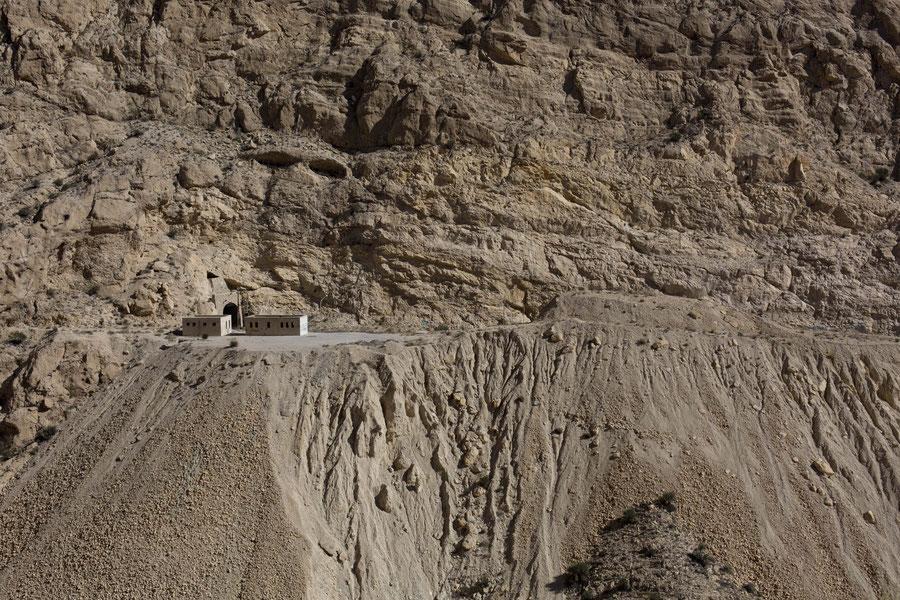 Kontrollposten in den Bergen des Südirans