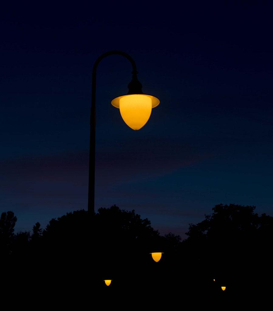 Lampen in der Nacht...