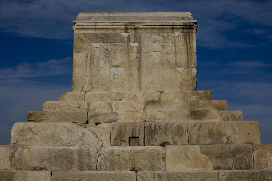 Das Grab der Gräber, Parsagard, Iran