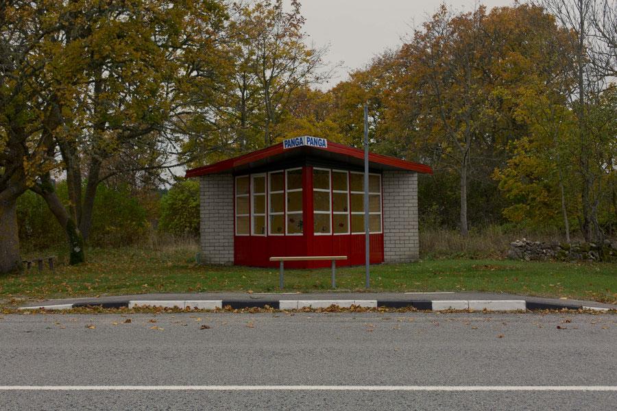 Die schönste Bushaltestelle Europas: Panga Panga auf Saaremaa, Estland
