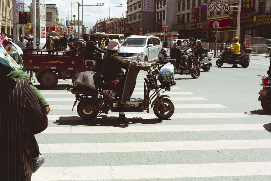 Everything goes, Lhasa, Tibet, China