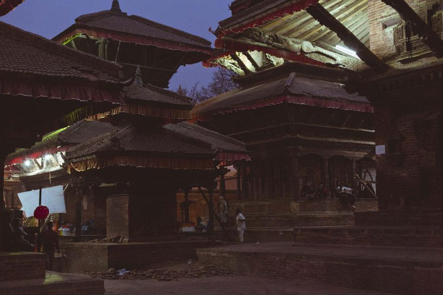 Durbar Square in Thamel, Kathmandu, Nepal
