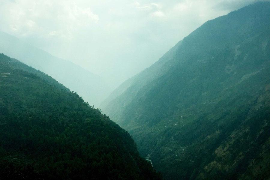 Der Blick nach Nepal, Nepal