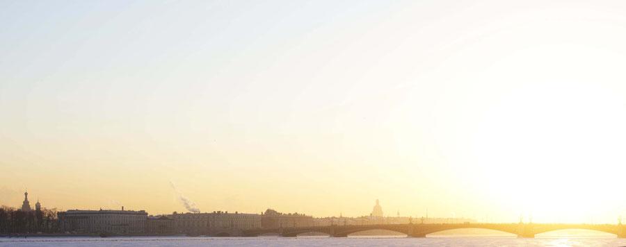 Saint Petersburg Palace Embankment, Russia