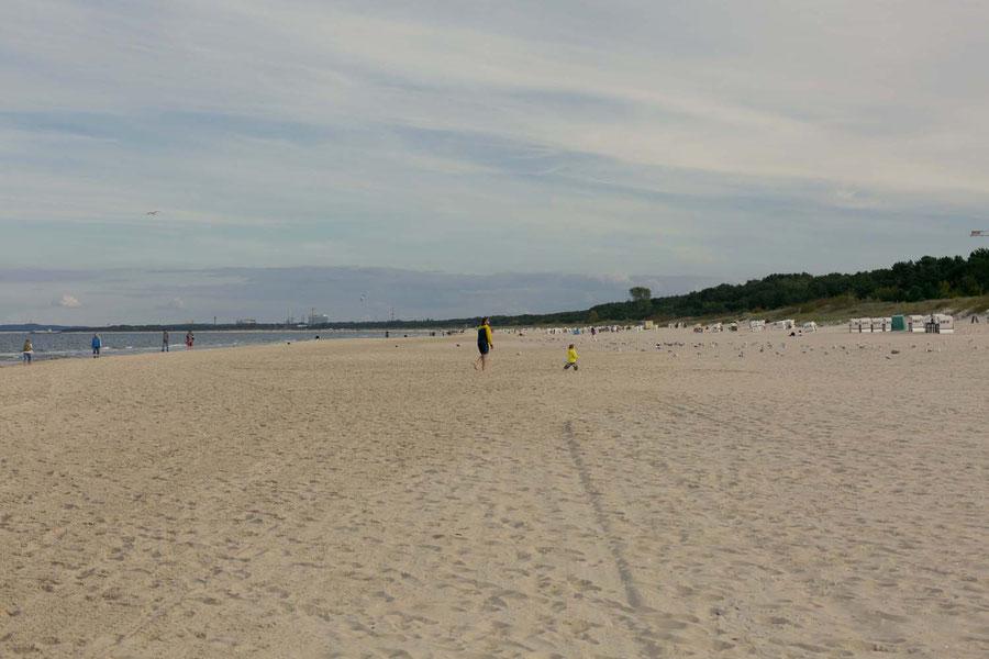 Der Ahlbecker Strand.