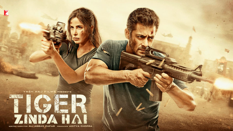 Plakat des Bollywoodfilms, Quelle: https://www.yashrajfilms.com/movies/tiger-zinda-hai