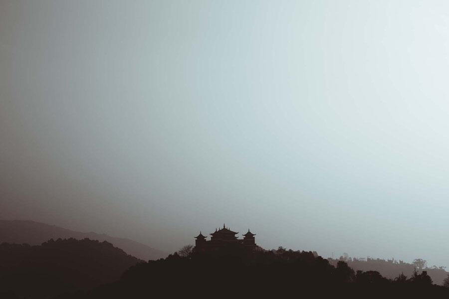 Buddhistisches Kloster, Nepal