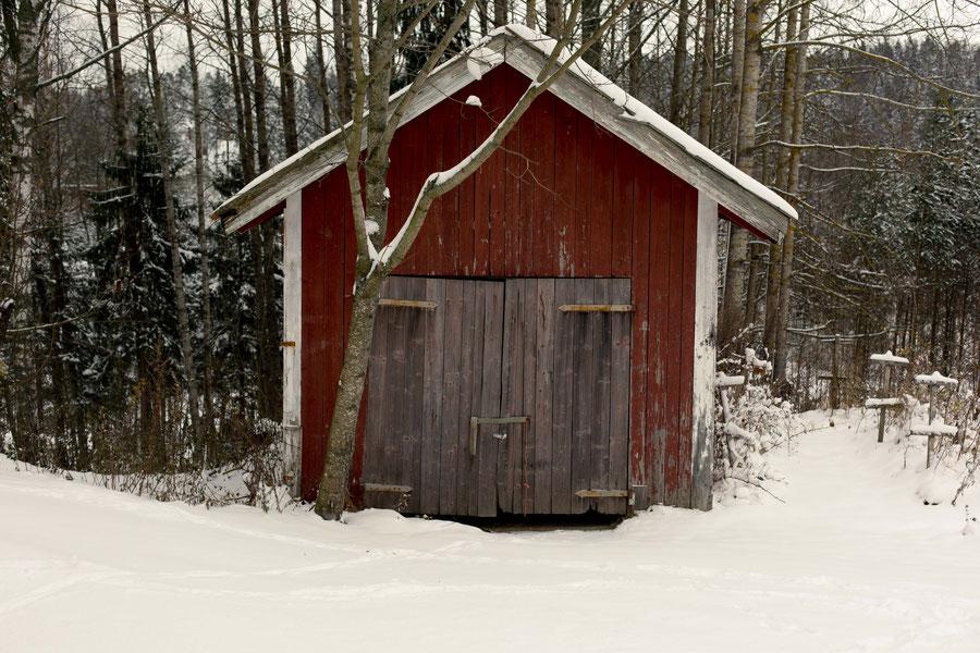 Holzschuppen, Vantaa, Finland