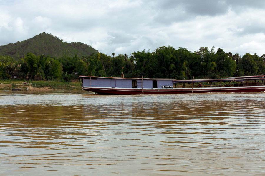 Auf dem Mekong, Laos