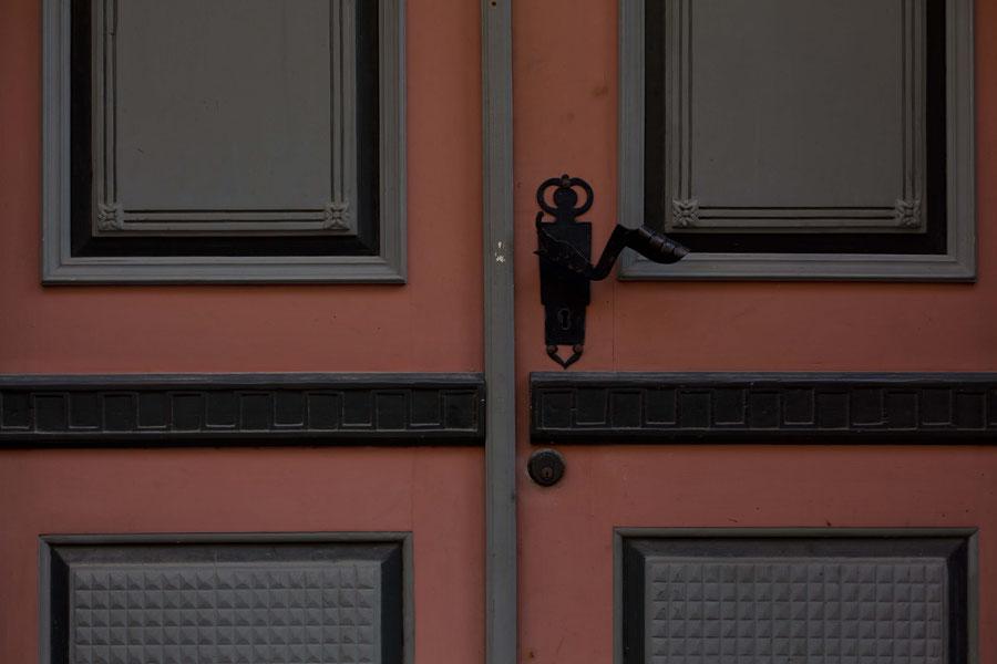 House entrance, Tallinn, Estonia.