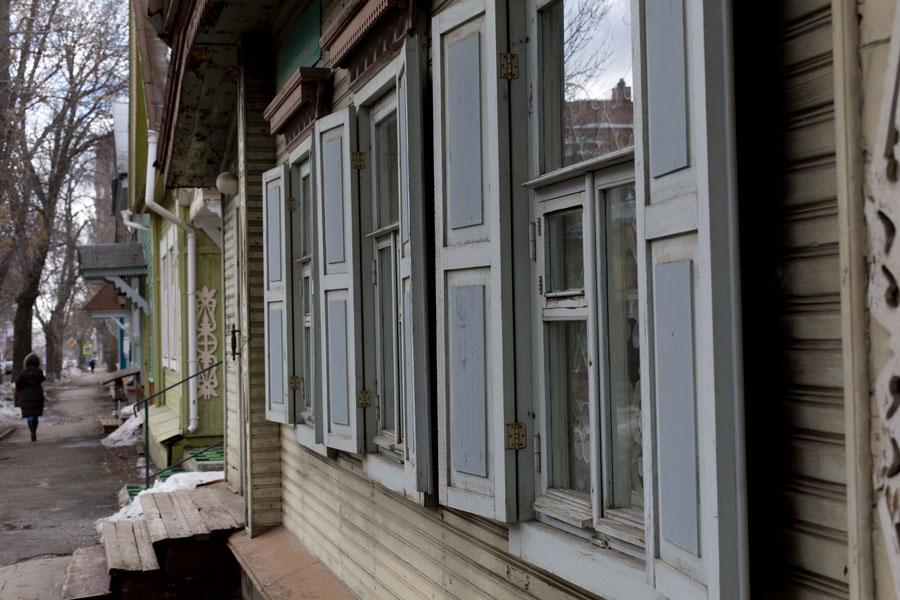"""""""das Alte Samara"""" in einem untypisch guten Zustand, Samara, Russland"""
