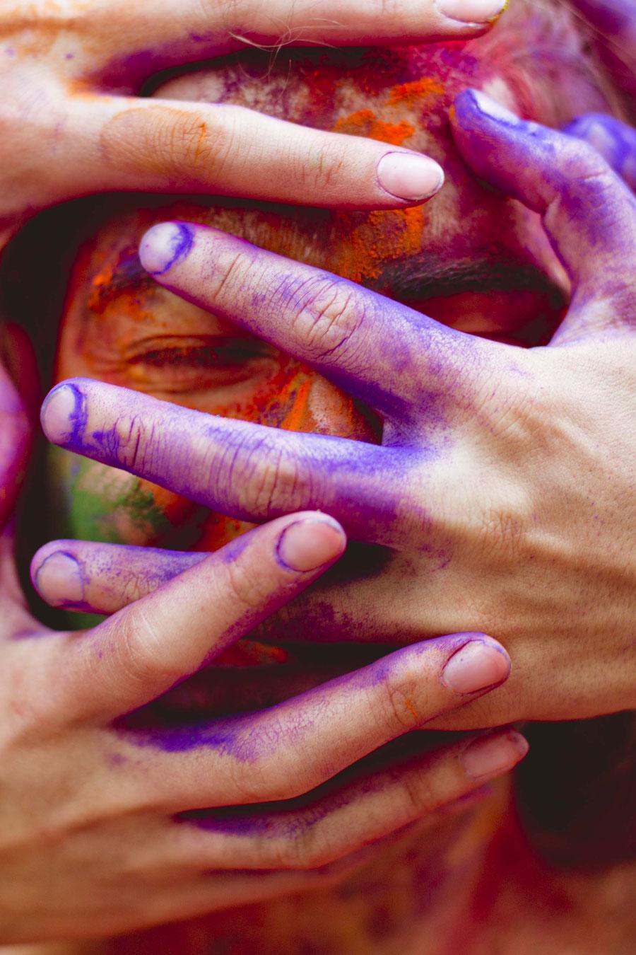 Everybody wants to touch, Kathmandu, Nepal