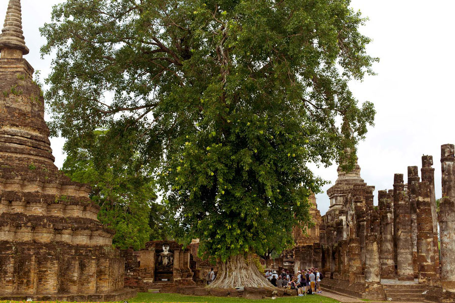 Religious centre, Sukhothai, Thailand