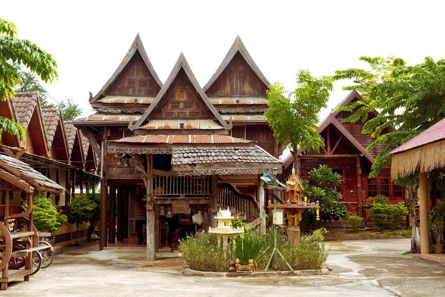 Das Vogelhaus, Sukhothai, Thailand
