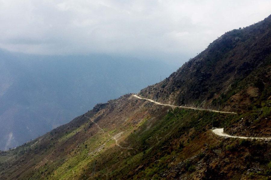 Die Straße zur Grenze, Nepal