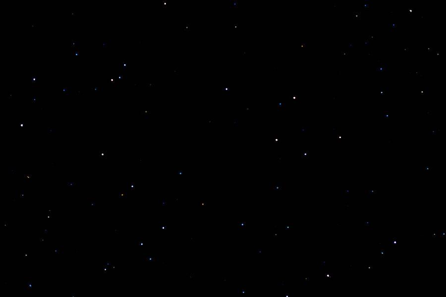 Der Sternenhimmel, Kazbegi, Georgien