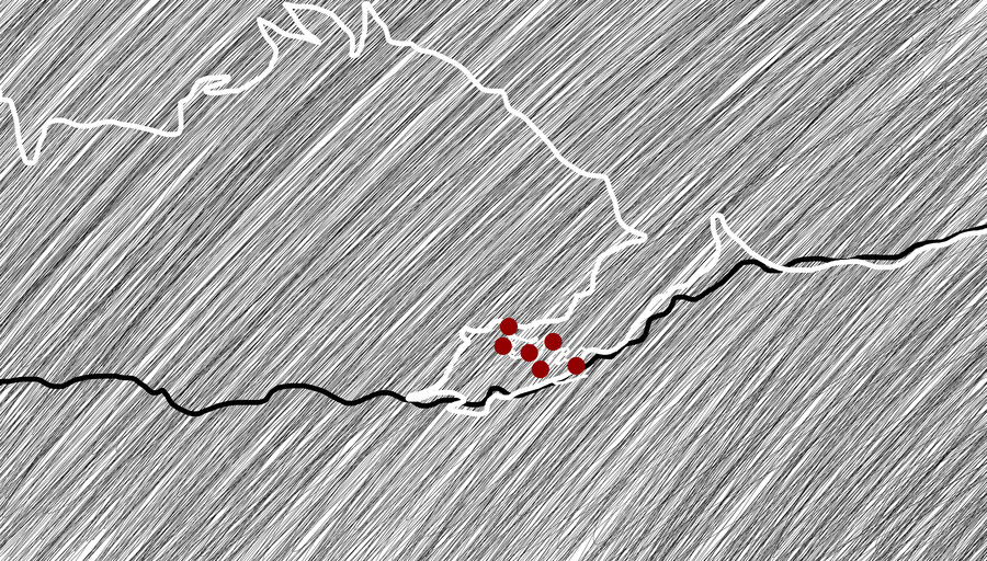 Citymap Masuleh, Iran