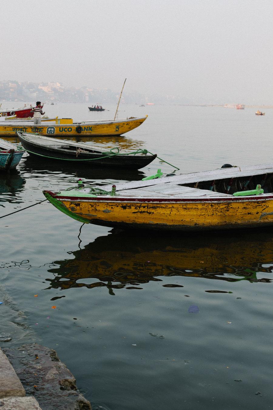 Boottouren, Varanasi, Indien