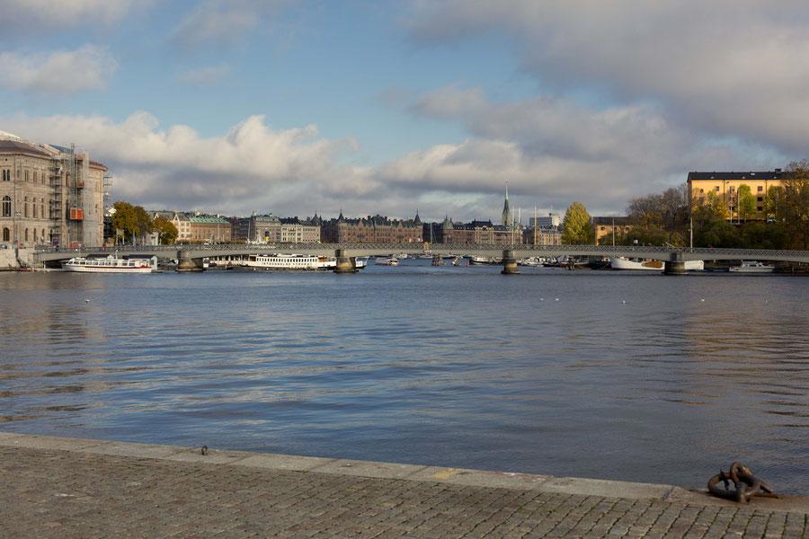 Stockholm von der sonnigen Seite, Stockholm, Schweden