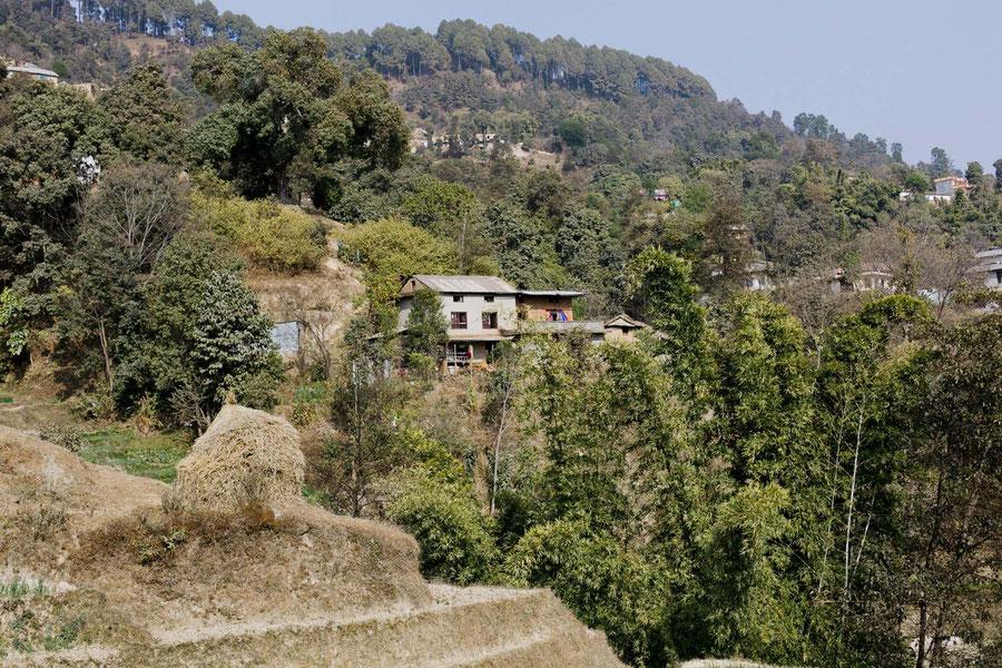 Zwischen Bakthapur und Nagarkot, Nepal