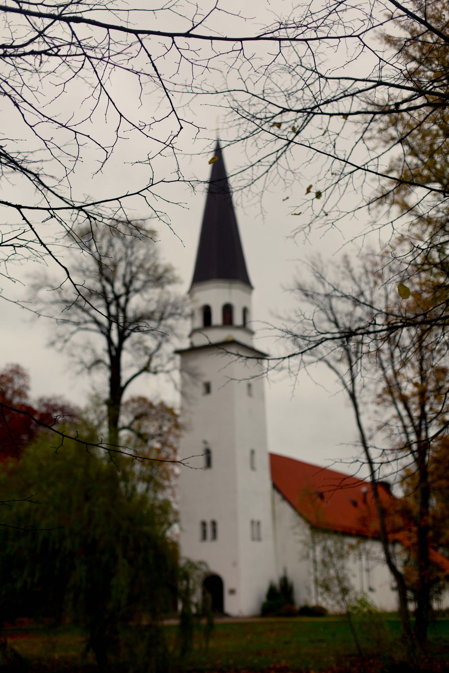 church in Sigulda, Latvia