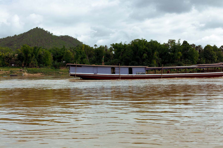 On the Mekong river, Loas