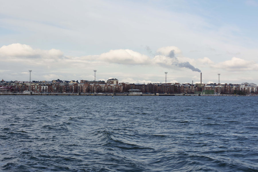 Helsinki harbor, Finnland