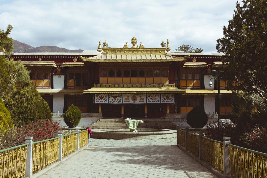 Sommerpalast des 14ten Dalai Lamas, Lhasa, Tibet, China