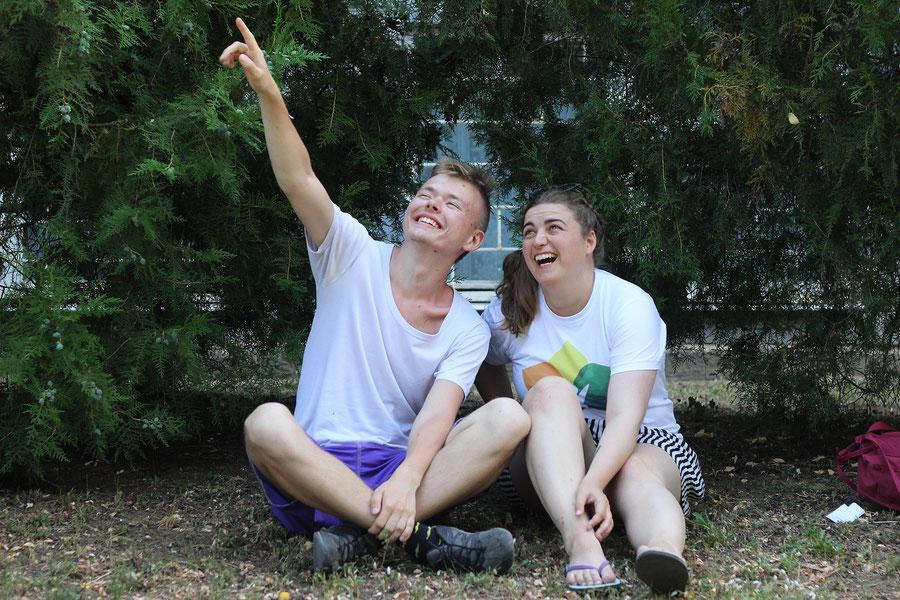 Campcollege Alex, einer diese seltenen Diamanten, Krim, Russland (Photo credit: Katja)