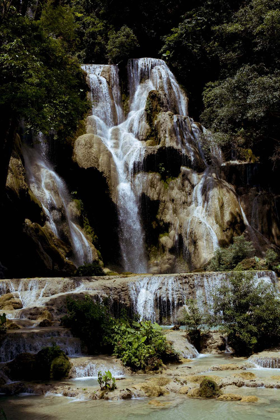 Kuang Si Waterfall, close to Luang Prabang, Laos