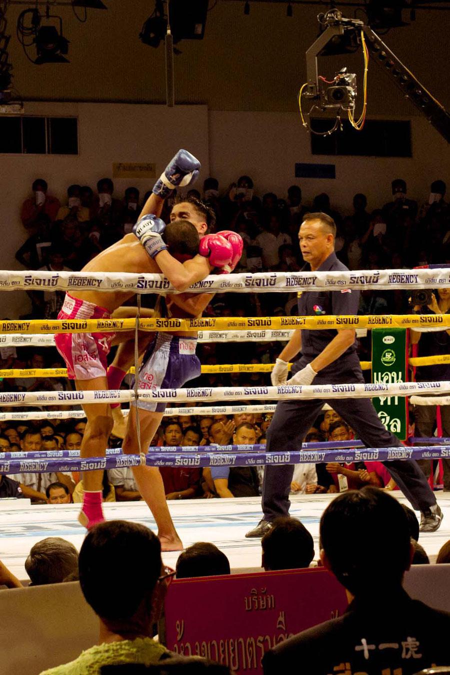 Thai Boxen, eine Grenzerfahrung, Bangkok, Thailand