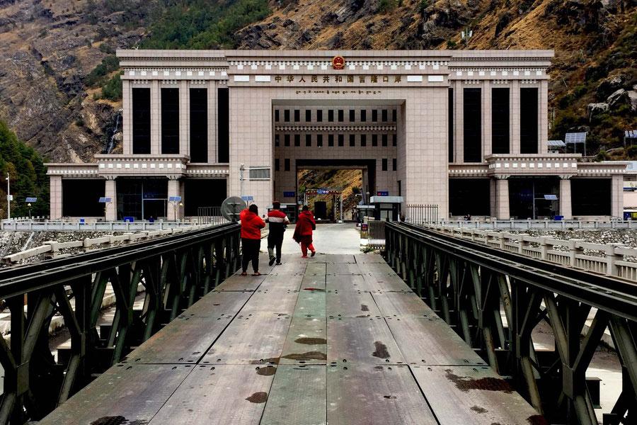 Das Tor zu China, Grenzposten Tibet/Nepal, China
